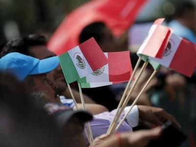 Pasar Meksiko Disulap Jadi Karya Seni Urban Terbesar