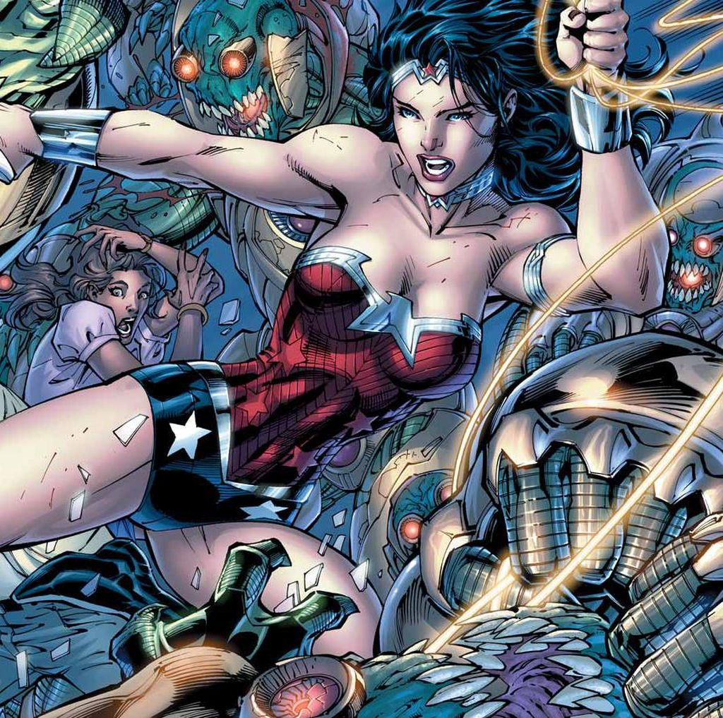 Komik Wonder Woman Terbaru Soroti Isu Pengungsi