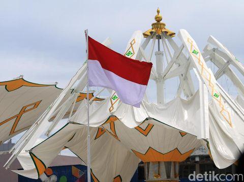 Masjid Raya Baiturrahman Aceh, Sabtu (13/5/2017)