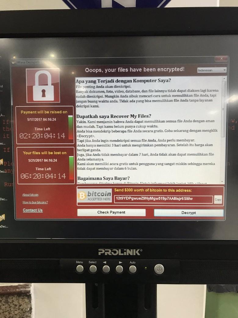 Cerita Saat Petugas RS Dharmais Temukan Virus WannaCry di Komputer