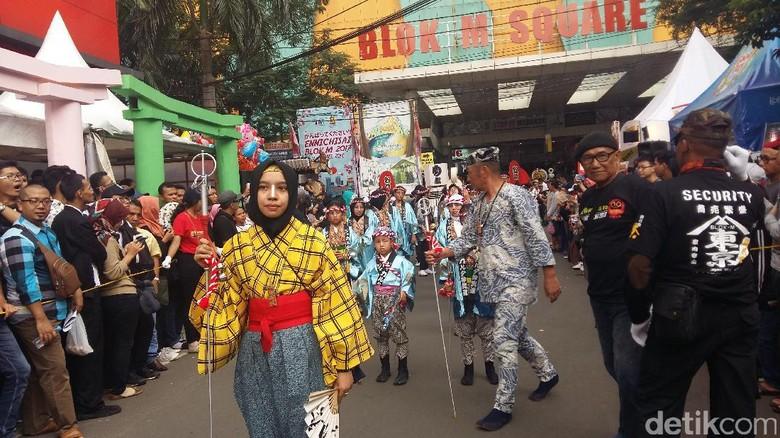 Festival Ennichisai (Heldania/detikTravel)