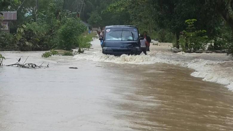 Banjir Melanda Konawe Selatan Sultra, 782 Jiwa Mengungsi
