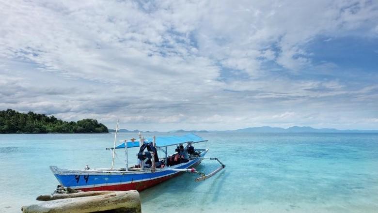 Pulau Pahawang yang cantik (I Gede Leo Agustina/dtraveler)