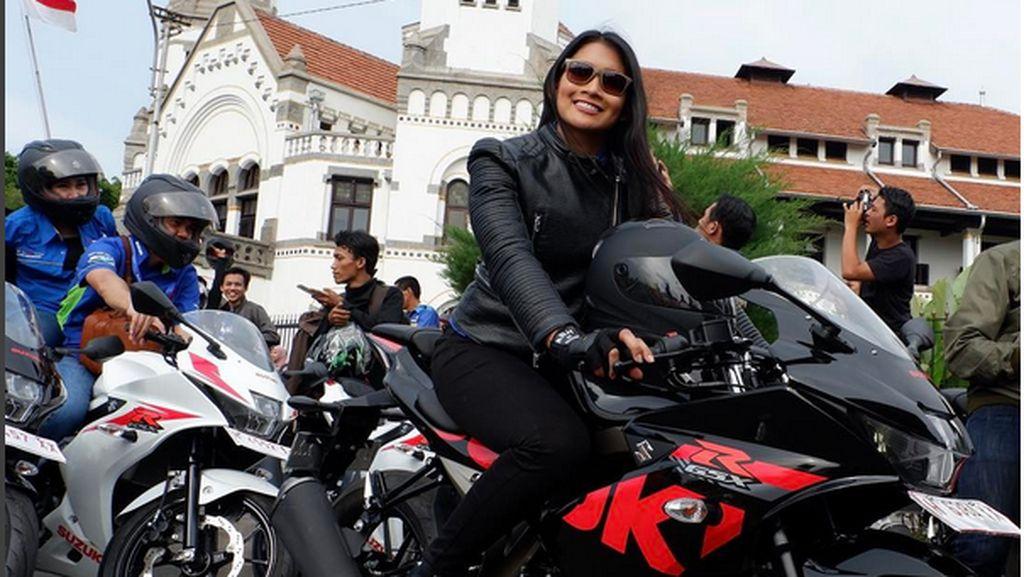 Anindya, Puteri Indonesia yang Suka Ngebut