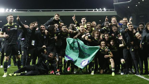Chelsea menjadi juara Liga Inggris musim 2016/2017.