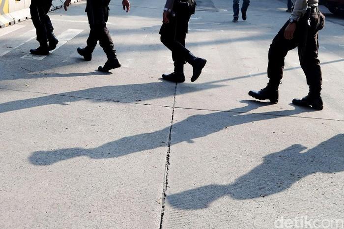 Ilustrasi polisi (Foto: Grandyos Zafna-detikcom)
