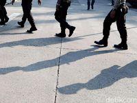 Wakapolres Jakarta Barat SIlaturahmi ke FPI Usai Aksi 22 Mei