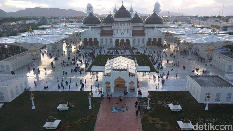 Masjid Raya Baiturrahman (Agus Setyadi/detikTravel)