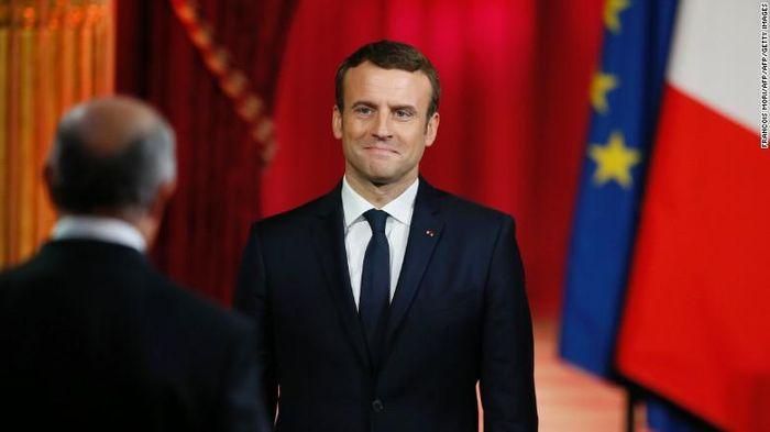 Presiden Prancis Emmanuel Macron/Foto: Getty Images