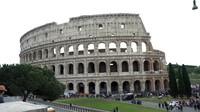 Kota Roma di Italia juga tidak kehilangan pamor untuk solo traveler perempuan. (Foto: Irfan Padli/Trans7)