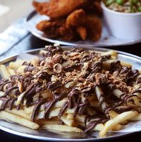 Gurih Manis 'Nutella Fries', Camilan Baru dari Kentang Goreng dan Nutella