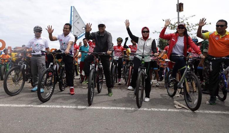 Gowes Pesona Nusantara Tempuh Jarak 5.000 Km