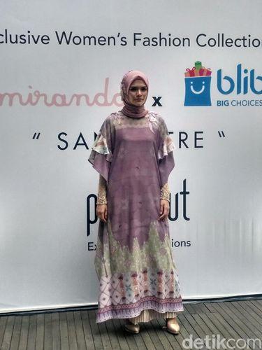 Jelang Ramadan, Ria Miranda Rilis Busana Bernuansa Pastel
