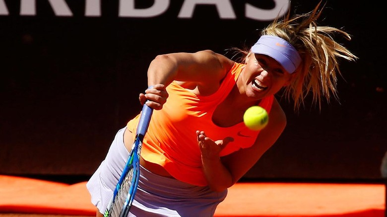 Sharapova Lewati Babak Pertama