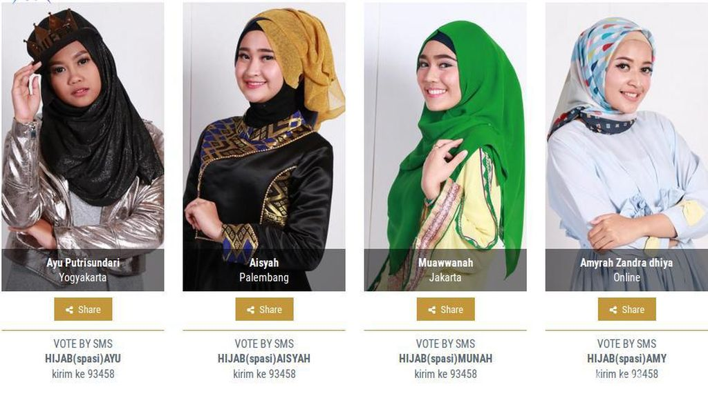 Yuk Nonton Road To Final Sunsilk Hijab Hunt 2017