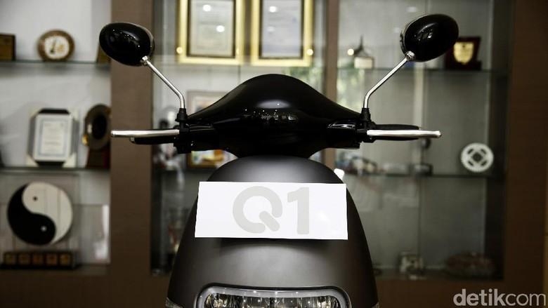 Motor listrik Viar Q1 (Foto: Agung Pambudhy)
