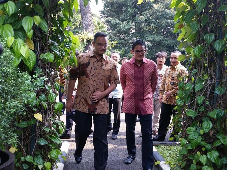 Anies Baswedan dan Sandiaga Uno Hadiri Ultah JK Ke-75