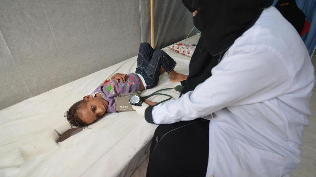 Wabah Kolera di Yaman Makin Parah, 500.000 Orang Terinfeksi
