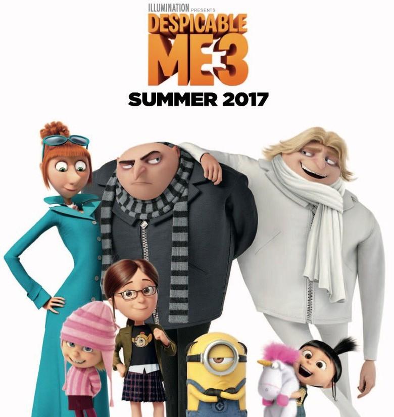 Despicable Me 3 Animasi Kesayangan Keluarga Kembali Lagi