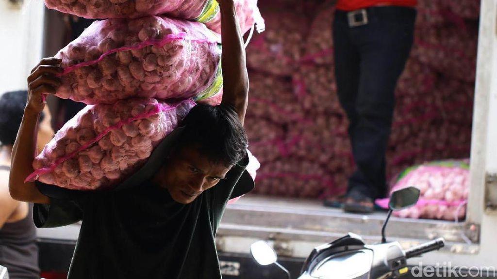 10.000 Ton Bawang Putih Impor Masuk DKI hingga Akhir 2018