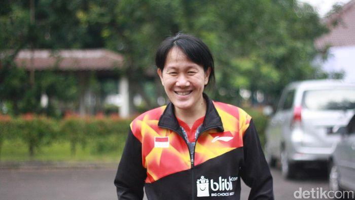 Minarti Timur, pelatih tunggal putri pelatnas PBSI. (Foto: Femi Diah/detikSport)