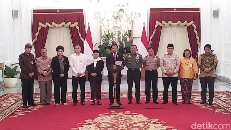 Jokowi: Panglima TNI dan Kapolri, Tindak Tegas Pengganggu Persatuan
