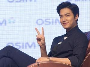 Daebak! Lee Min Ho Dibayar Rp 10,6 M untuk Hadiri Sebuah Acara