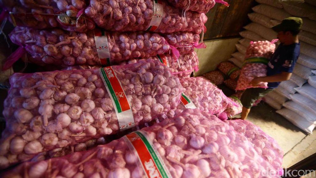 Impor Bawang Putih Batal karena Stok Masih Cukup 3 Bulan