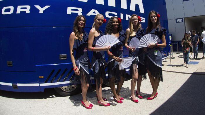 Grid Girls di MotoGP musim lalu. (Getty Images Sport/Mirco Lazzari gp)
