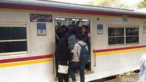 Viral Bocah Terjepit Pintu KRL di Stasiun Depok Baru, Ini Imbauan KCI