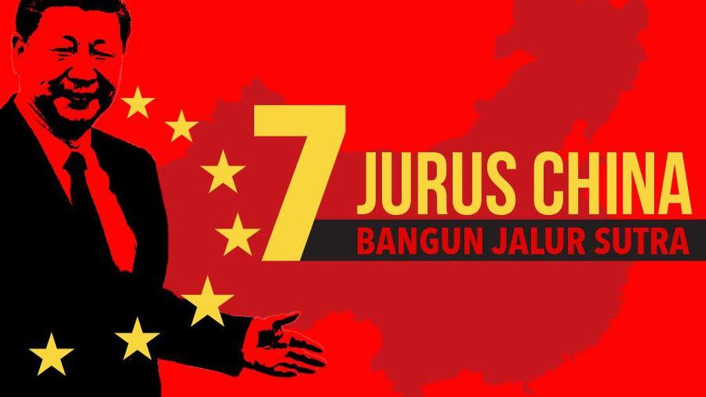 7 Jurus China Kuasai Dunia Lewat Jalur Sutra