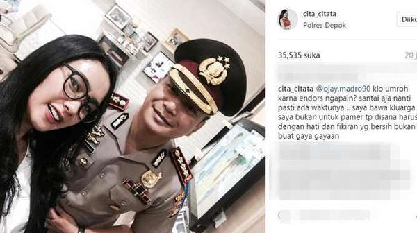 Ogah Mikirin Balajaer, Cita Citata Goyang Terus!