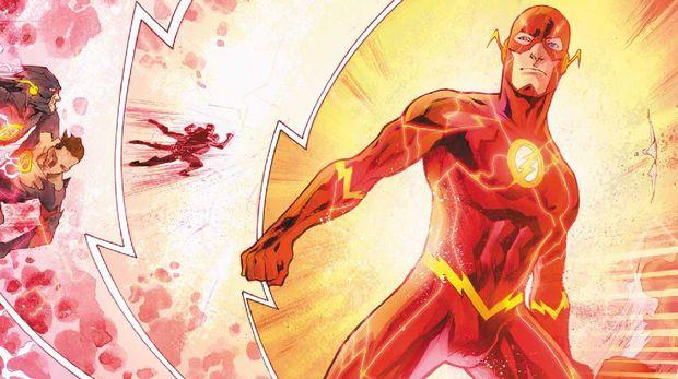 The Flash dalam komiknya.