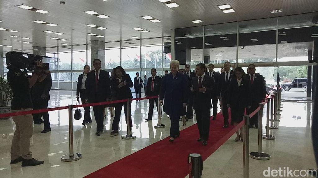 DPR Terima Kunjungan Presiden Lithuania, Bahas Hubungan Bilateral