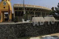Venue Eks PON Jabar di Sport Center Si Jalak Harupat Terbengkalai