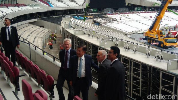 Tinjau Queen Elizabeth Olympic Park, JK Mau Gelaran Asian Games 2018 Selevel Olimpiade