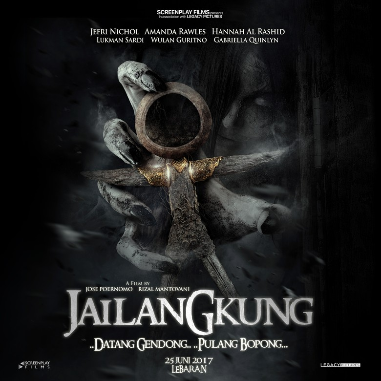 Mistis, Ini Poster Film Jailangkung