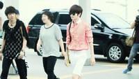 Member INFINITE ini selalu menjalani gaya hidup sehat. Namun Sungjong membutuhkan beberapa kilogram lagi agar berat badannya ideal. Tingginya mencapai 177 cm dan berat badannya hanya 54 kg. Foto: Allkpop