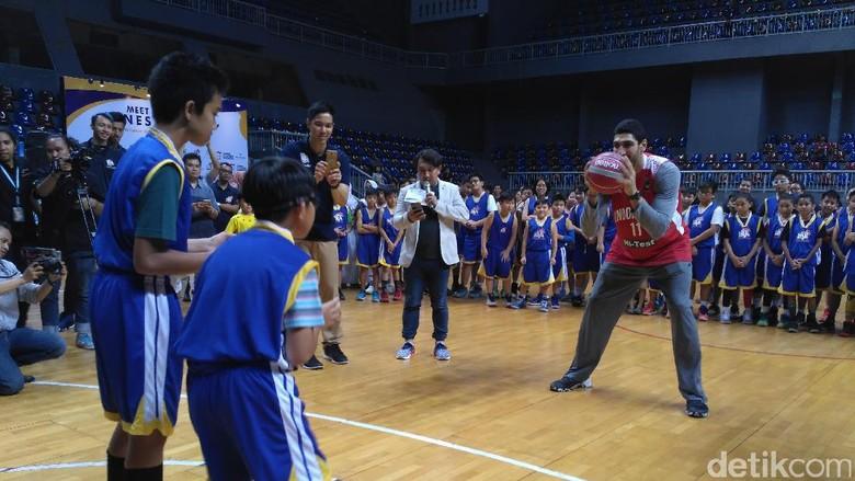 Pebasket Indonesia Diminta Tiru Kegiatan Sosial Pemain NBA