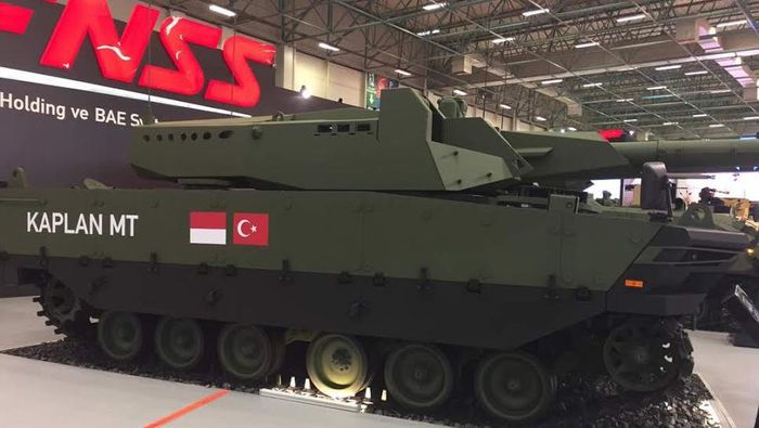 Tank Buatan RI dan Turki (Foto: Dok. Pindad)