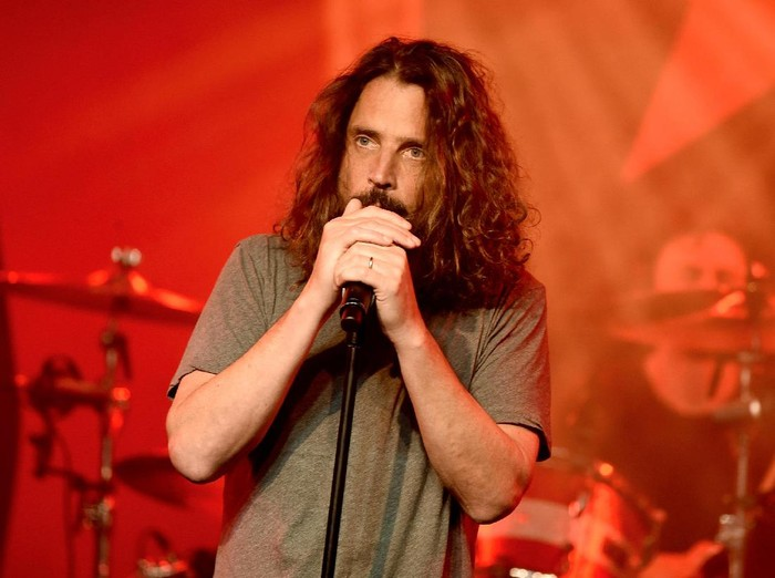 LOS ANGELES, CA - JANUARY 20:  Singer Chris Cornell performs at Prophets of Rage and Friends Anti Inaugural Ball at the Taragram Ballroom on January 20, 2017 in Los Angeles, California.  (Photo by Kevin Winter/Getty Images)
