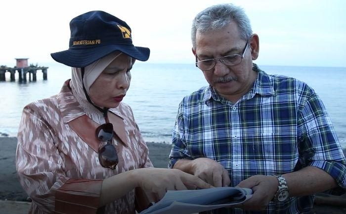 Peninjauan ke Kota Baru Bandar Kayangan, Lombok (Foto: Dok. Kementerian PUPR)