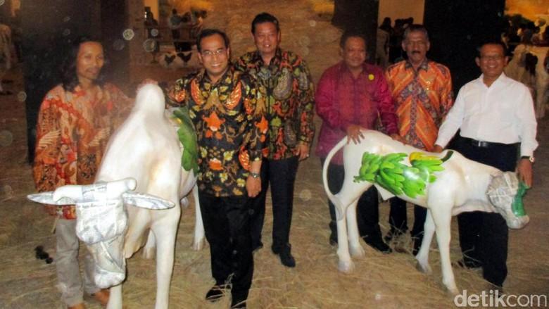 Menteri Budi Karya Buka Pameran Raja Kaya Budi Ubrux