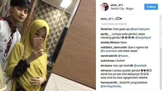 Perut Besar Larissa Chou, Sang Bayi Dipastikan Bakal Jadi Fans Chelsea!