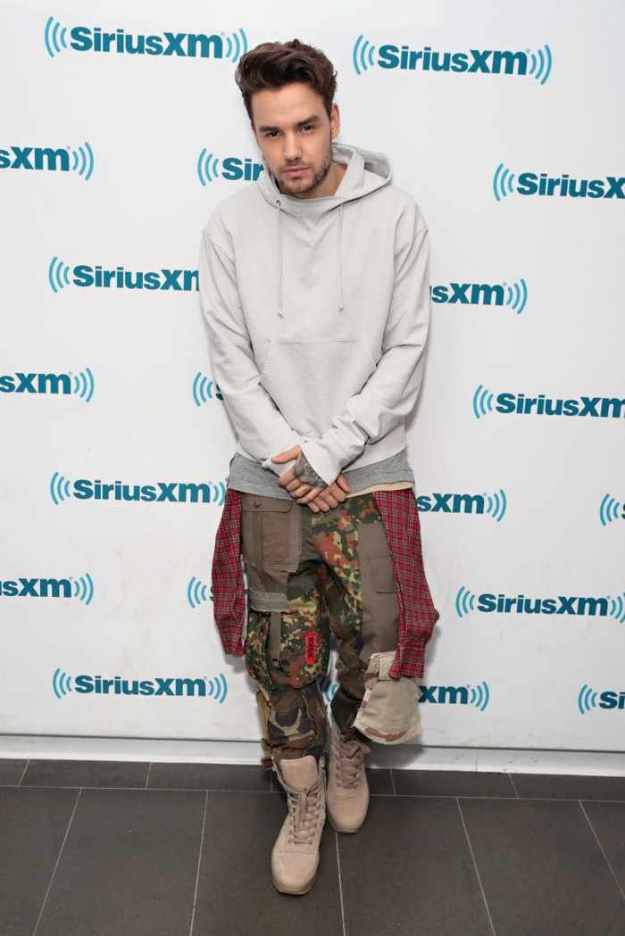 NEW YORK, NY - MAY 16:  Liam Payne visits The Morning Mash Up for a special Celebrity Session on SiriusXMs SiriusXM Hits 1 channel at SiriusXM Studios on May 16, 2017 in New York City.  (Photo by Cindy Ord/Getty Images for SiriusXM)