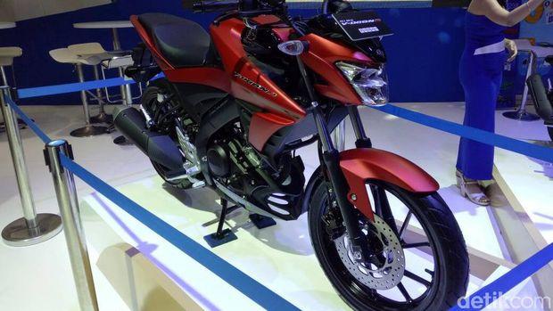 Yamaha merilis Vixion dan Vixion R di IIMS 2017