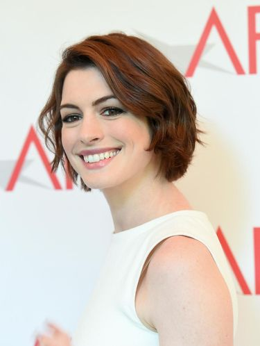 BEVERLY HILLS, CA - JANUARY 09:  Actress Anne Hathaway attends the 15th Annual AFI Awards at Four Seasons Hotel Los Angeles at Beverly Hills on January 9, 2015 in Beverly Hills, California.  (Photo by Jason Merritt/Getty Images) *** Local Caption *** Anne Hathaway