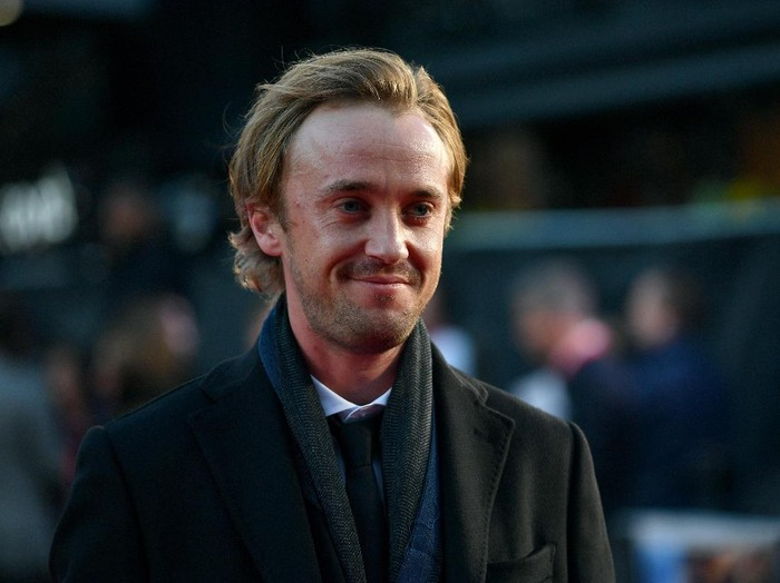 LONDON, ENGLAND - OCTOBER 05:  Actor Tom Felton attends the A United Kingdom Opening Night Gala screening during the 60th BFI London Film Festival at Odeon Leicester Square on October 5, 2016 in London, England.  (Photo by Gareth Cattermole/Getty Images for BFI)