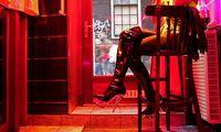Ilustrasi pekerja seks di Red Light District (AFP)
