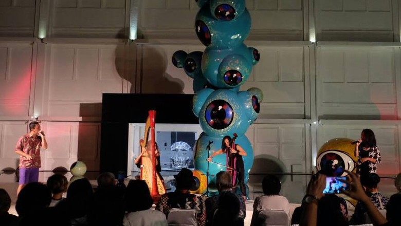 Ribuan Pengunjung Nikmati Meriahnya Pembukaan Art Jog 10